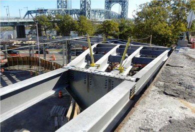 Photo of Harlem River Drive Ramp Construction