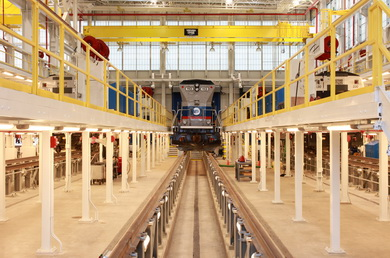 Metro-North's Newest Maintenance Shop Wins International Award for Design Excellence