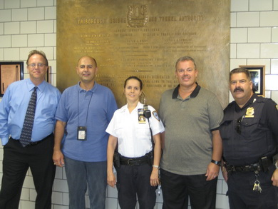 Verrazano Employees' Actions Saved Man's Life