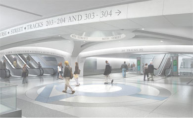 East Side Access Rendering