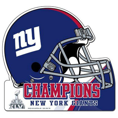 Giants Champions Graphic