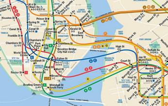 New Interactive Subway Map