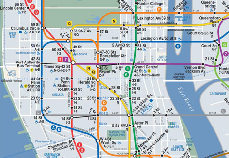 Mta Subway Map 7 Train.Mta News Limited Quantities Available Of Our First Late Night Map