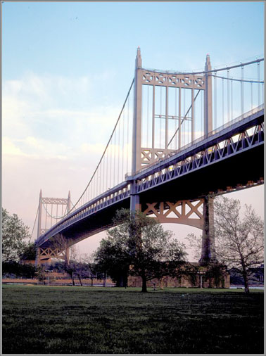 The Triborough Bridge's East River Suspended Span.