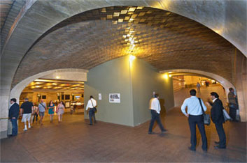 Photo of GCT Whispering Gallery Construction