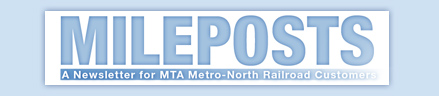 Mileposts masthead graphic