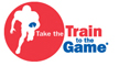 Take the Train to the Game Logo