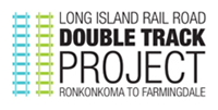 LIRR Double Track Project Logo