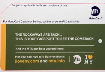 "New ""I Love NY"" MetroCard"