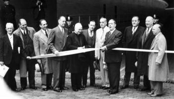 May 25, 1950 ribbon cutting ceremony