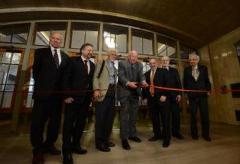 Officials cut ribbon on GCT entrance dedicated to Jacqueline Kennedy Onassis