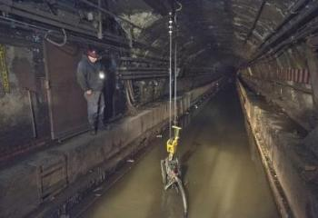 The Canarsie Tunnel was flooded during Superstorm Sandy.