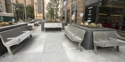 Renovated 63rd Street Plaza