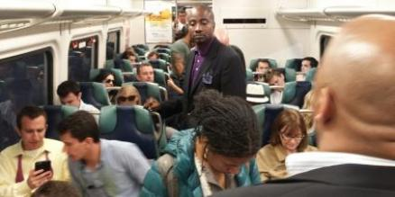 LIRR after Belmont Stakes