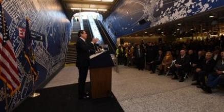 Governor Cuomo unveils Second Avenue Subway's 96th Street Station