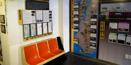 The SAS Community Information Center's new exhibit, entitled Second Avenue Subway: Phase 2 and Beyond gives an in-depth look into the next phase of the Second Avenue Subway