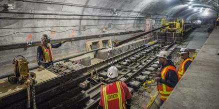 Work being done on Second Avenue Subway