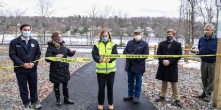 President Catherine Rinaldi Officially Opens Maybrook Trailway