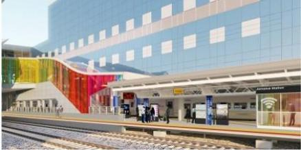 Jamaica Station rendering