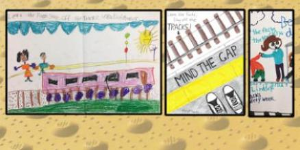 Mta News Metro North Announces Winners Of Rail Safety Poster