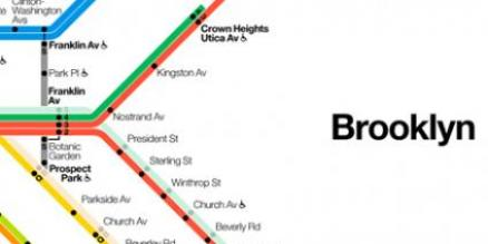 Brooklyn Weekender map