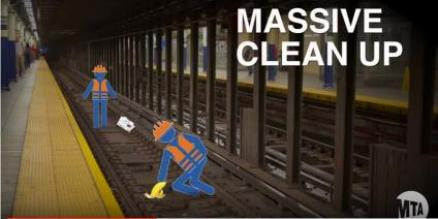 Screen shot from Operation Track Sweep video