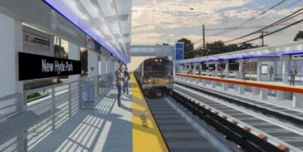 Rendering of LIRR Expansion Project