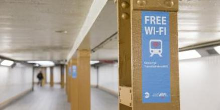 Free wi-fi is now available in more than 175 underground subway stations.