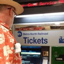 picture of ticket selling machine